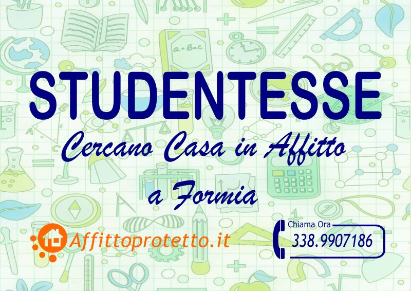 Studentesse Cercano Casa in Affitto a Formia