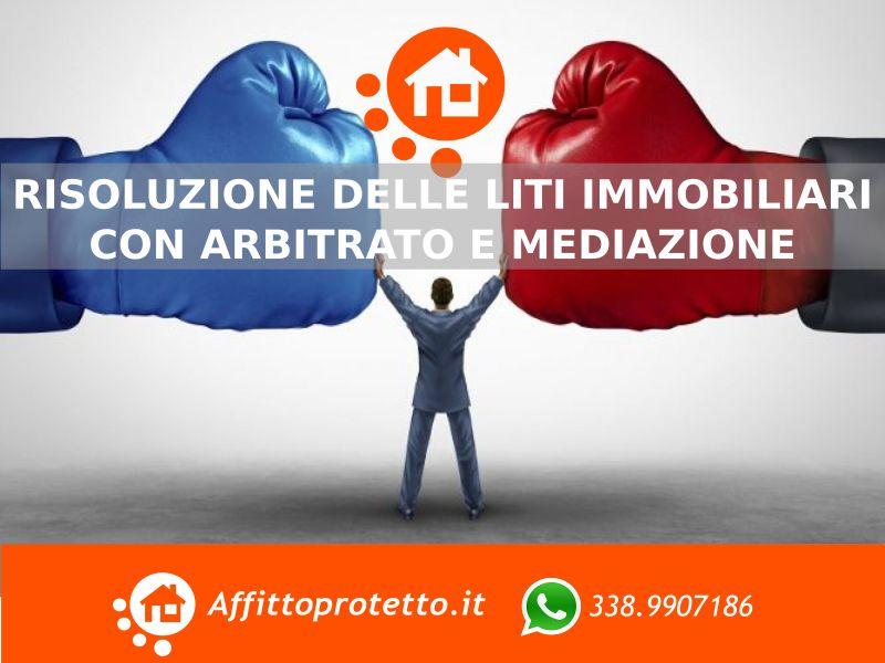 risoluzione delle liti immobiliari tramite arbitrato e mediazione